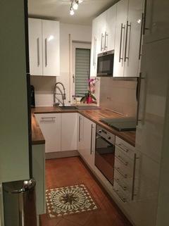 Küche Liebevoller Garten in Karlsfeld: 3,5 Zimmer Whg. über 2 Etagen