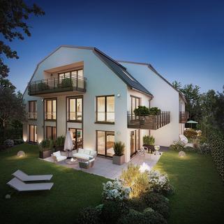 Illustration-Änderungen vorbehalten. Erdgeschosswohnung mit eigenem Garten - Erstbezug!