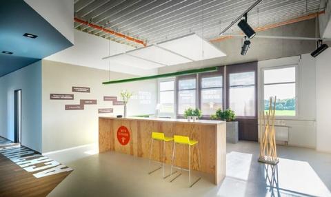 Empfang STOCK - PROVISIONSFREI - Moderne Büroeinheiten im aufstrebenden Gewerbeareal