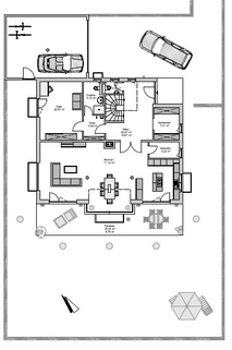 Lage im Grundstück GEO-Wohnbau: TRAUM-Haus auf TRAUM-Grundstück in Waldtrudering