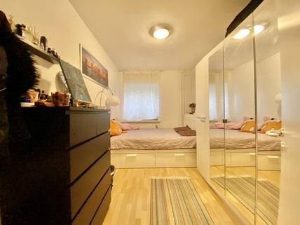 Schlafzimmer Ruhig gelegene 2-Zimmer-Wohnung mit Balkon in Oberhausen