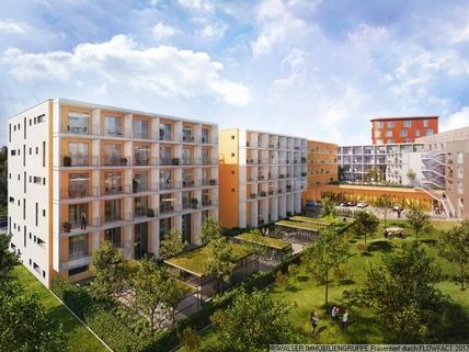 Innenhof Modernes Studenten-Apartment zum grünen u. ruhigen Innenhof - ERSTBEZUG!!!