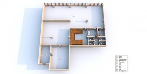 Geburtshaus 3D Ansicht Gewerbeimmobilie (Solarium & Geburtshaus) in citynaher Lage in der Hansestadt Rostock zu kaufen!