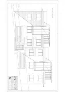 Ansicht Westen Besonderes Architektenhaus mit Baugrundstück