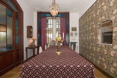 Sala da pranzo Villa Italien im Liberty-Stil
