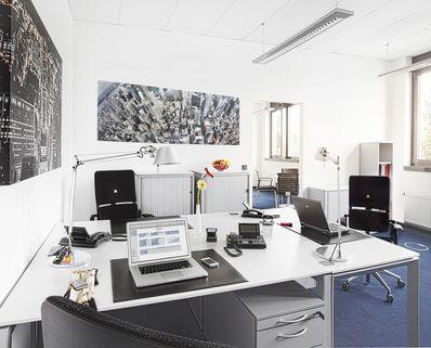Teambüro 3 Personen Repräsentative Büros ab 14 m² in der neuen Messestadt