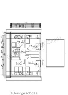 Grundriss OG Schicke Doppelhaushälfte mit schönem großem Garten