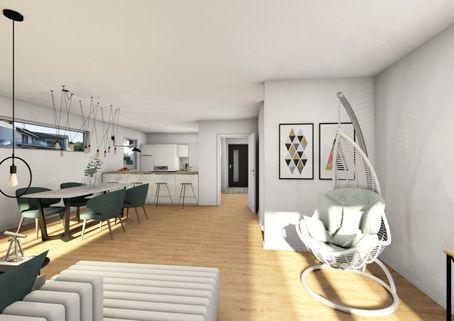 0221RG Essen Neubau einer attraktiven Doppelhaushälfte in Großhadern-Blumenau