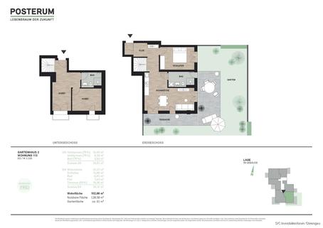 Whg. 113 **NEUBAU** Attraktive, innovative Eigentumswohnungen im Herzen des Chiemgaus! KfW 40+