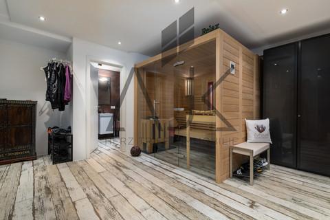 Wellness zuhause - die Schönste Art zu Wellnessen Exklusive 3,5 Zimmer Gartenwohnung mit Souterain, Sauna und Privatgarten verkauft.