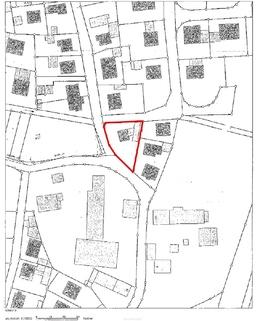 Lageplan Sonniges gut bebaubares Südwestgrundstück, fußläufig zur S-Bahn, Markt-Indersdorf-Niederroth