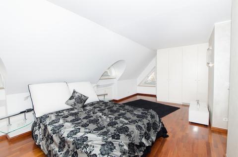Schlafzimmer Lehel - Dachgeschosswohnung der besonderen Art