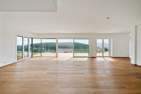Wohn-/Essbereich ON TOP OF VIENNA - Penthouse mit Infinity-Pool und Blick über ganz Wien!