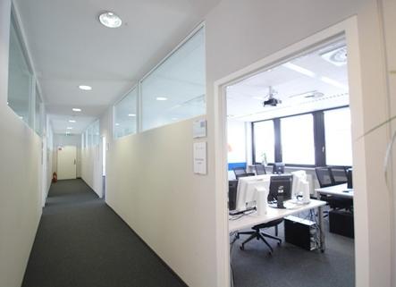 Flur STOCK - Büroflächen mit Hofgarten