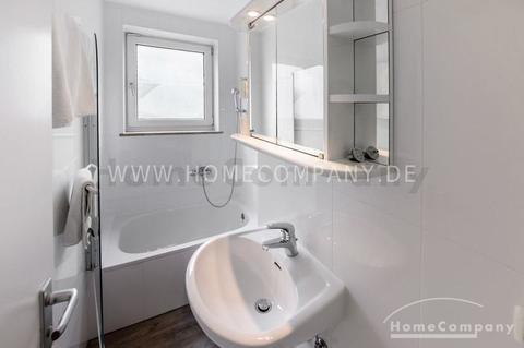Möbliertes 1-Zimmer-Apartment mit Balkon im Münchner-Westend