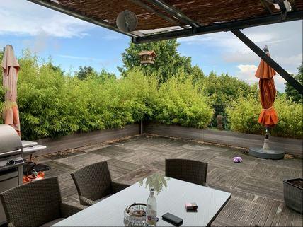 Dachterrasse Wohnung Ideale Kombination aus Gewerbe und Wohnen