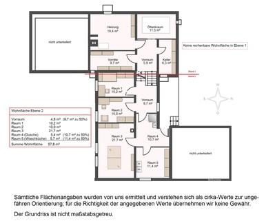 Grundriss UG Großzügiges Einfamilienhaus auf ca. 2.200 m² Grund in Baldham-Vaterstetten
