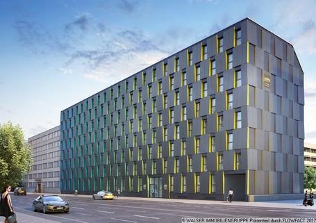 Außenansicht Dachterrassen-Studentenapartments in Pasing - Perfekt für Kapitalanlage und Mieter