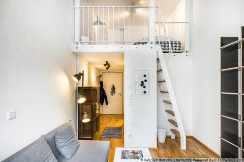 Galerie-Apartment WALSER: Einzigartige Gelegenheit - Möbliertes Galerie-Apartment für Studenten - zum Sofort-Bezug!