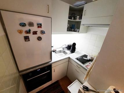 Kleine Einbauküche Kapitalanlage! Sonnig gelegene 1 Zimmer-Wohnung mit EBK in Traunstein!