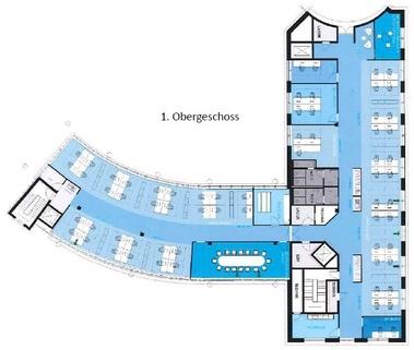 Grundriss 1 Obergeschoss Moderner Standard zum moderaten Preis