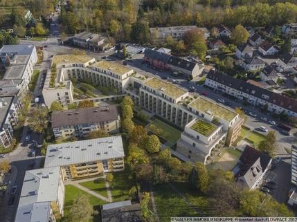 Blick von oben Traumhaft: NEUBAU-DACHGESCHOSS-Apartment *NUR für Studenten und Auszubildende*