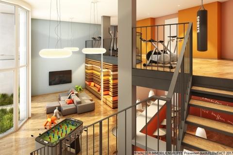 Community-Lounge mit Fitness Modernes Studenten-Apartment zum grünen u. ruhigen Innenhof - ERSTBEZUG!!!