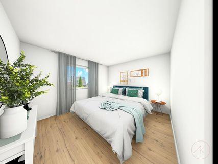 0221RG Schlafen II Neubau einer attraktiven Doppelhaushälfte in Großhadern-Blumenau