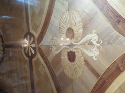 Detailansicht Einlagen Parkett Bestlage ROM: exklusive Altbauwohnung im herrschaftlichen Stil Nähe Villa Borghese zu verkaufen