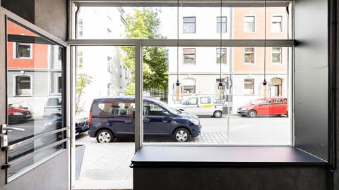Fensterfront Repräsentative Gewerbeeinheit im Herzen von Haidhausen
