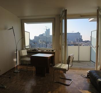 Blick in den Wohnraum freies App./Gelegenheit: schönes Appartement zu Verkaufen