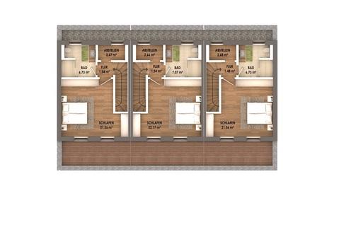 Dachgeschoss Geräumige, attraktive Neubauhäuser im Labertal