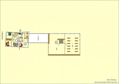2. OG Wohn- und Geschäftshaus mit Laden - und Lagerflächen auf 2 Etagen mit zusätzlichen Garagen!
