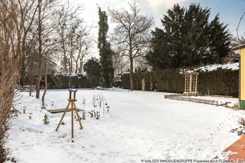 Garten WALSER: Traumhaft sonniges Grundstück mit Altbestand in idyllischer Nachbarschaft