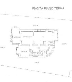 planimetria_6V74_pianoTerra Villa Italien im Liberty-Stil
