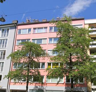 Ansicht Strasse Top Lage - Isarvorstadt, City-Nähe, schönes 1-Zimmer-Apartment