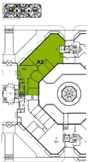 Grundriss EG A2 484 qm Top-Büros vor Münchens Toren