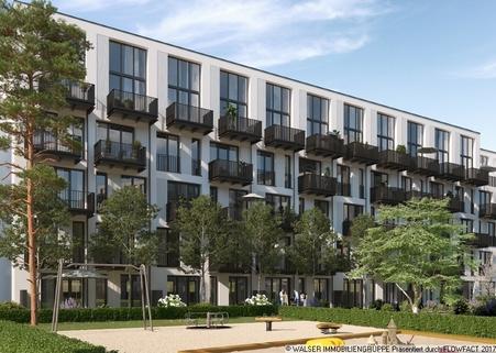 München Pasing PaseoCarre_Apartment_Innenhof Großzügige 2-Zimmer-Wohnung in zentraler Lage von München-Pasing.
