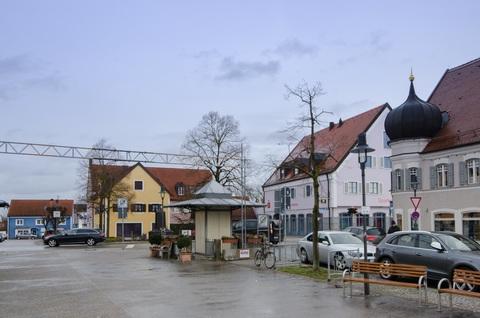 Marktplatz Ladenlokal Neubau im Drechslerhaus am Marktplatz