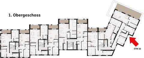 1. Obergeschoss StattHaus - Leben im Herzen Forchheims
