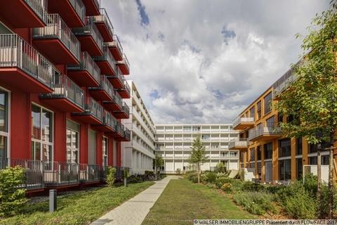 Innenhof Außergewöhnliche 1,5 Zi.-Galerie-Whg. inkl. Möblierung