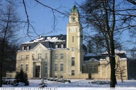 N11530014_mvc-001f.jpg Schlosshotel 300m von der Route Nr. 8 Breslau-Warschau.