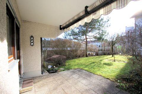Terrasse Ruhige 3-Zi.-Garten-Whg. mit hohem Wohnwert - 82131 Gauting