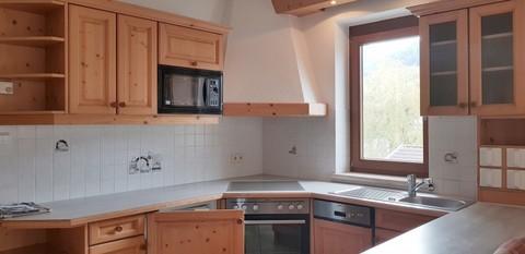 gemütliche Wohnküche Großzügige 4 Zimmerwohnung mit Panoramablick