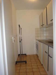 Küche gepflegtes Appartement mit Balkon Nähe MAN zu verkaufen
