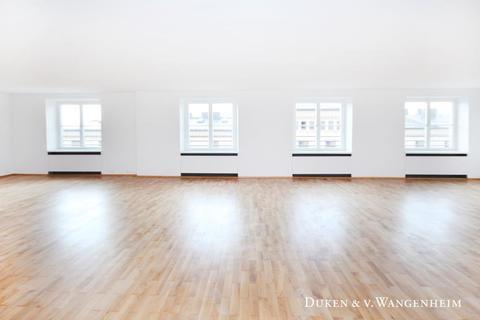 Raum optionale Unterteilung Büroflächen / ShowroomflächenBestlage – Maximilianstraße