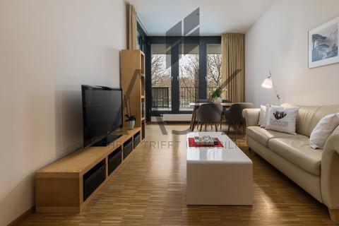Loftstyleliving Beste Ludwigsvorstadt: Zwei-Zimmer,   Loftcharakter - 13qm Süd/West Loggia, Keller/TG - bezugsfrei!