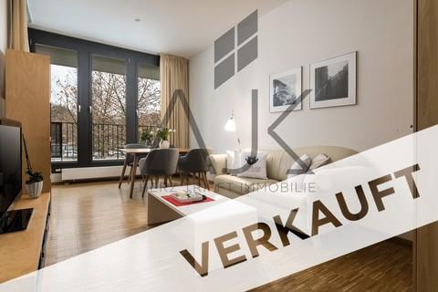 6609.20AJK_verkauft Beste Ludwigsvorstadt: Zwei-Zimmer,   Loftcharakter - 13qm Süd/West Loggia, Keller/TG - bezugsfrei!