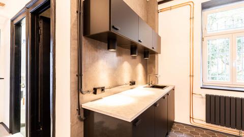 Vermieterseitig verbaute Küchenzeile Repräsentative Gewerbeeinheit im Herzen von Haidhausen