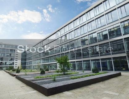 Außenbild_prot STOCK - Top-Büroflächen in der Parkstadt Schwabing